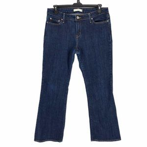 Levis Womens Blue 545 Boot Cut Denim Jeans 14 M